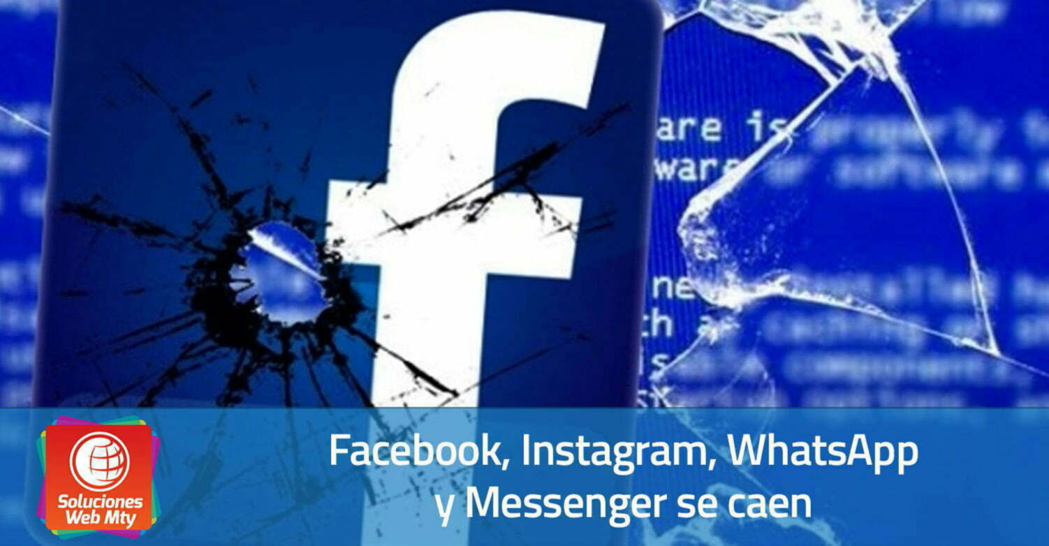 Facebook, Instagram, WhatsApp y Messenger se caen